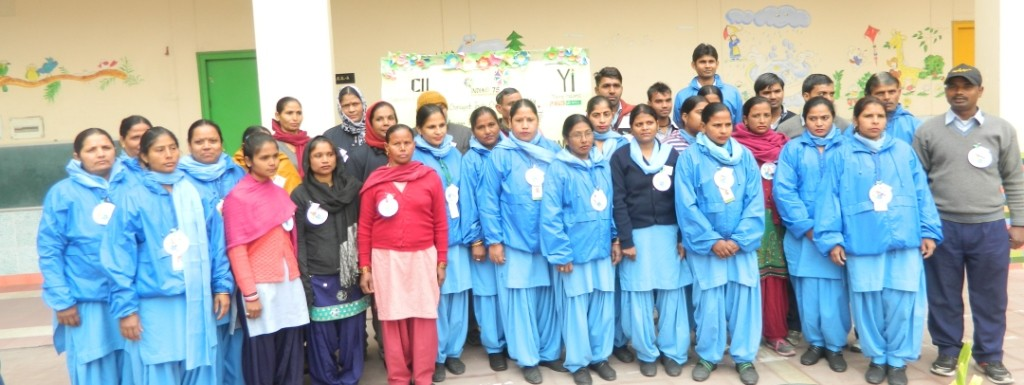 CII Yi Recognising UT's cleaning personnel