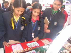 Students of St. Joseph's Sr. Sec. School visited Science Exhibition