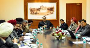 Chief Secretary reviews the progress of Sewa Kendras