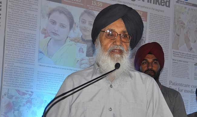 punjab-chief-minister-parkash-singh-badal