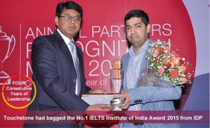 Touchstone bagged the prestigious award consecutively for 6th time
