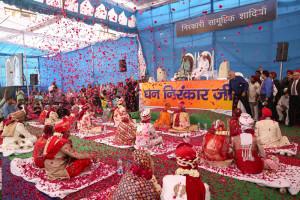 13 couples marry at Nirankari Mass Wedding function