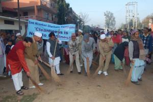 'Safai Abhiyan and Tree Plantation by Nirankari Devotees in Chandigarh'