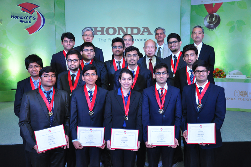 Honda-Foundation-felicitates-Indian-students-at-the-8th-Young-Engineers-and-Scientists'-(Y-E-S)-awards-for-2014
