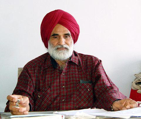 CPI (M) PB New Sect Charan Singh Virdi