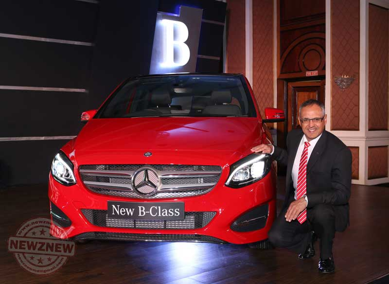 1-Eberhard-Kern-MD-&-CEO,-Mercedes-Benz-India-at-the-launch-of-the-new-B-Class