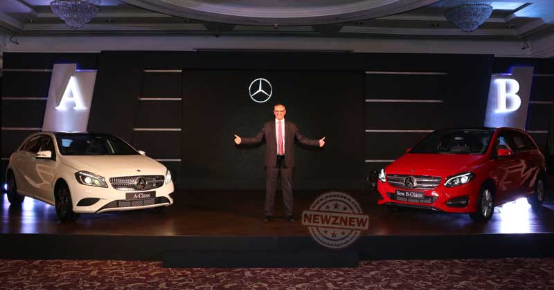 3-Eberhard-Kern-MD-&-CEO,-Mercedes-Benz-India-at-the-launch-of-the-new-B-Class