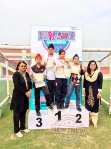 Oakridge International School celebrated sports day with great zeal