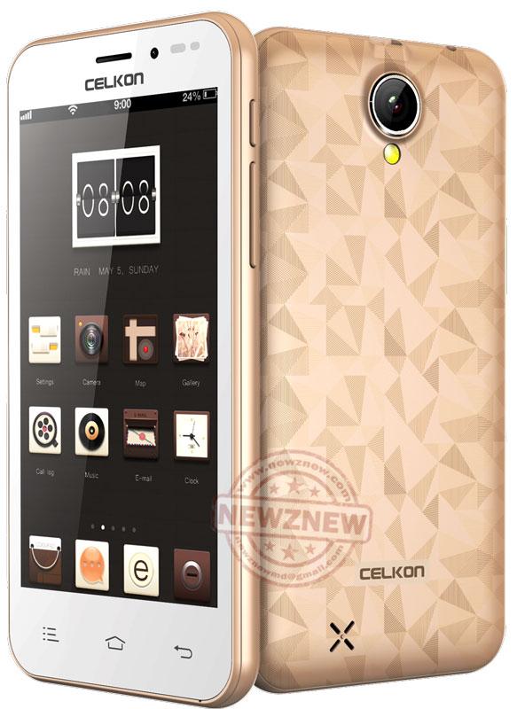Celkon-Millennia-Q450---Gold