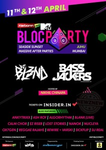 Karbonn Smart MTV Bloc Party packs more bang with 30 World-class DJs, Dance Music, Sundowners and Crazy Afterparties