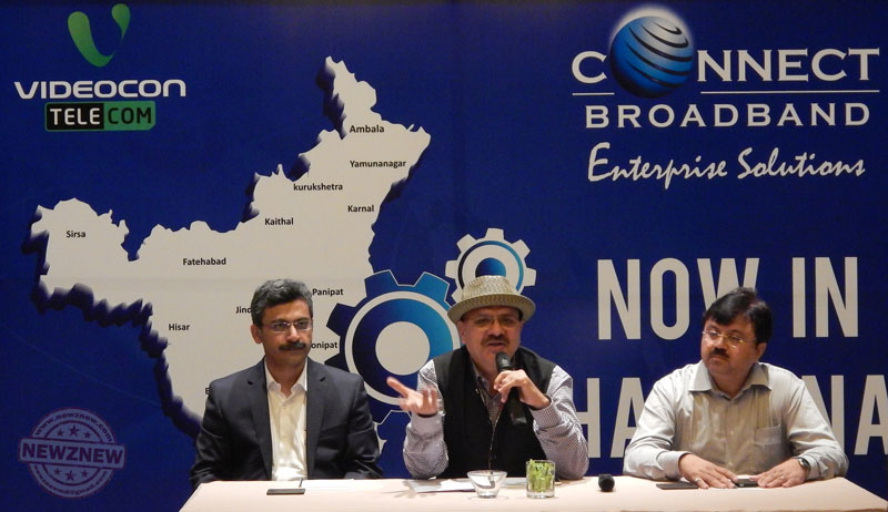 Mr-Arvind-Bali,-CEO-&-Director,-Videocon--Telecom-(Centre),-Announces-the-Launch-of-Telecom-Services-in-Haryana