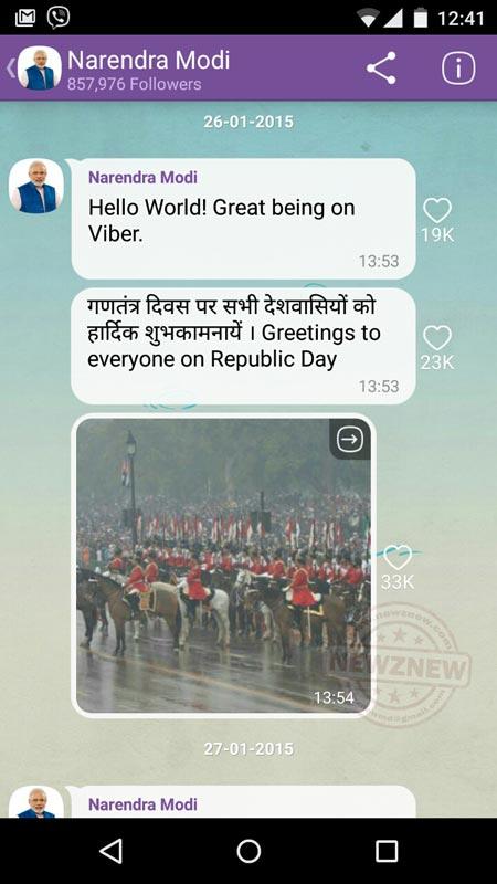 Narendra-Modi-Viber-Public-Chat