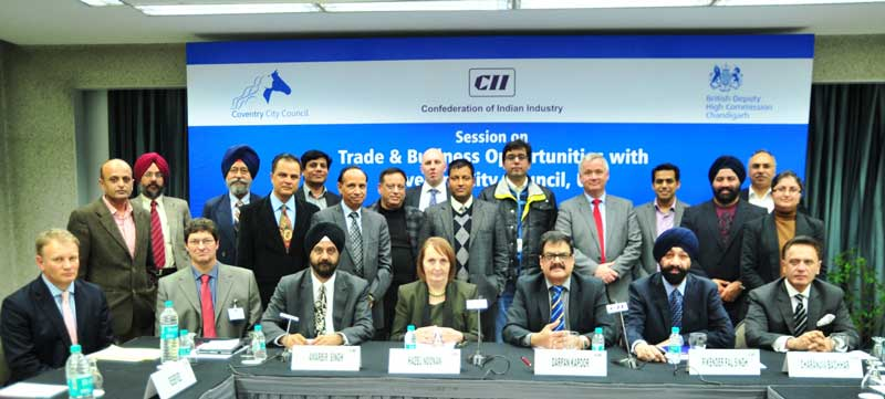 UK-Delegation-with-industry-representatives-at-CII-in-Chandiagrh