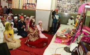 Radhe Maa joins devotees in tasting nectar of Gurbani