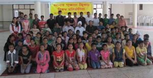 """""""Essay writing competition organized"""" at Sant Nirankari Satsang Bhawan"""
