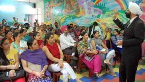 Ashmah International School Organised workshop on effective parenting skills