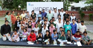 Sushma lends a platform to young minds at Bal Niketan to explore their creative potential