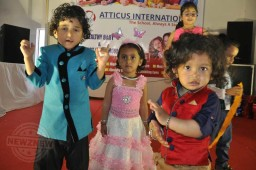 Atticus International School organizes Baby Show