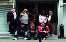 Gian Jyoti organized study tour of students to France