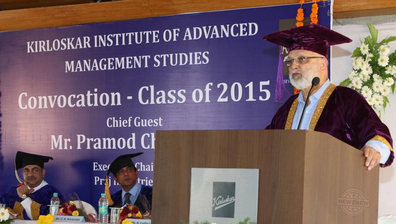 KIAMS-convocation-keynote-address-by-Pramod-Chaudhari,-Executive-Chairman,-Praj-Industries