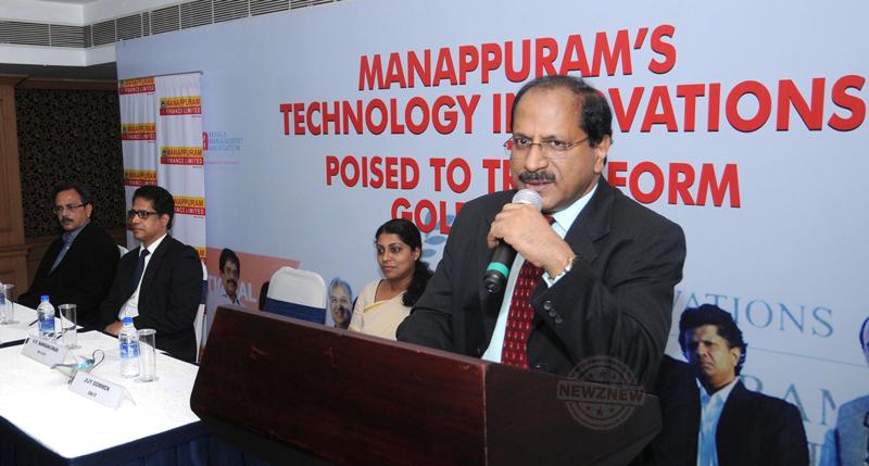 Mr.-V.-P.-Nandakumar,-MD-&-CEO-announcing-the-new-technological-innovati...