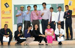 Quest Group of Institutions organised dress to impress competition for Career Success