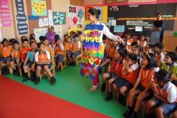 Oakridge School Organized World Book Day