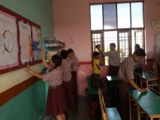 Labour Day celebration at Doon Public Sachool