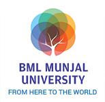 BML Munjal University - logo