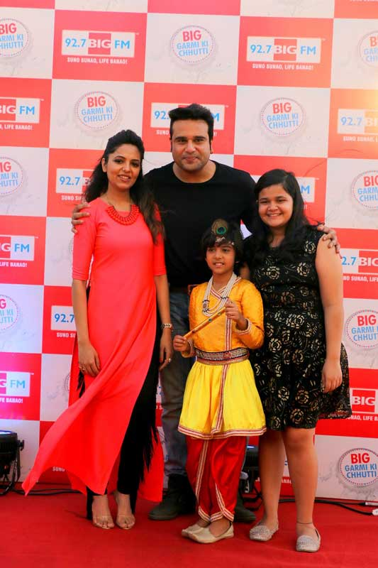 Comedians-Krushna-Abhishek,-Bal-Gopal-of-BIG-Magic,-Saloni-and-Sugandha-Mishra-at-the-launch-of-92.7-BIG-FM's-summer-campaign-BIG-Garmi-Ki-Chhutti-1