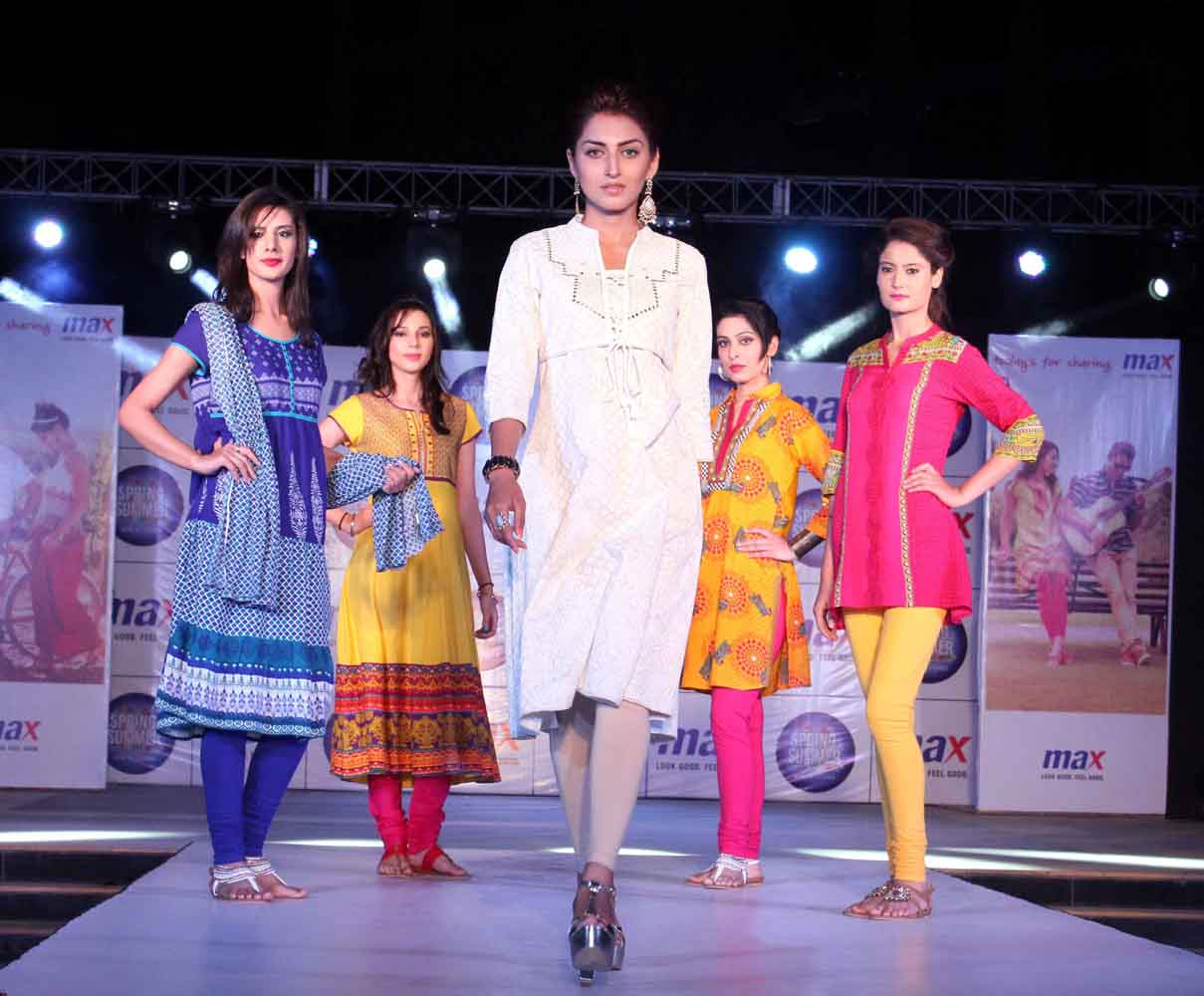 Max , India's leading value fashion brand announced the launch of its summer-2015 collections in a glittering fashion show at Elante Mall Chandigarh this evening. The latest collection featured the season's hottest trends in clothing, accessories and footwear.