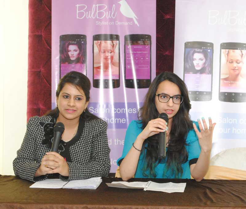 (L-R)Deeksha-Sharma,-Project-Manager-of-BulBul-and--Avantika-Pandey,-marketing-manager-Bulbul
