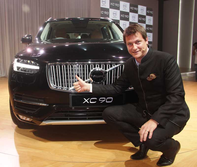Tomas-Ernberg,-MD,-Volvo-Auto-India-at-the-launch-of-XC90