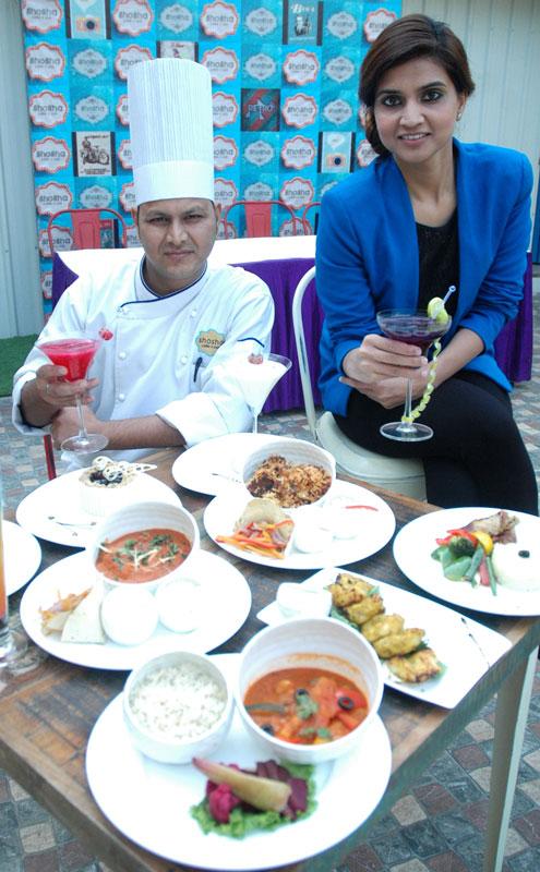LTR--Chef-Mr.-Navin-and-Mrs.-Monica-Bansal--Managing-Director--Shosha-Cafe-n-Bar