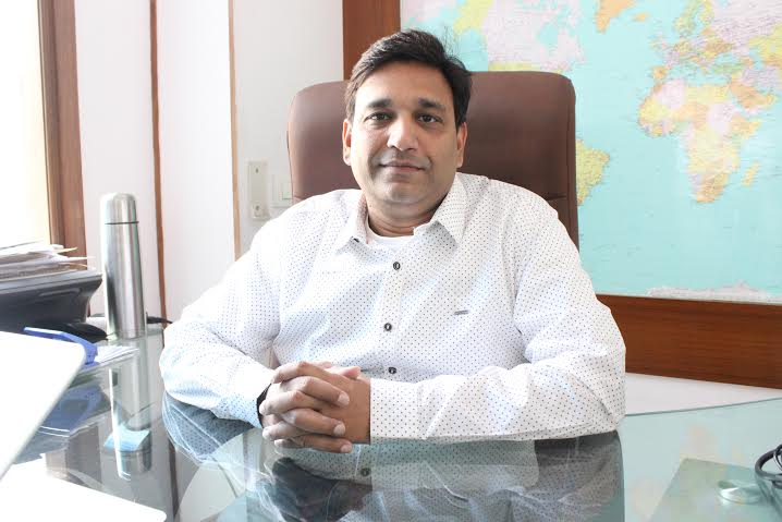 Mr. Shailendra Jain -Group head (Sales & Marketing), Steelbird