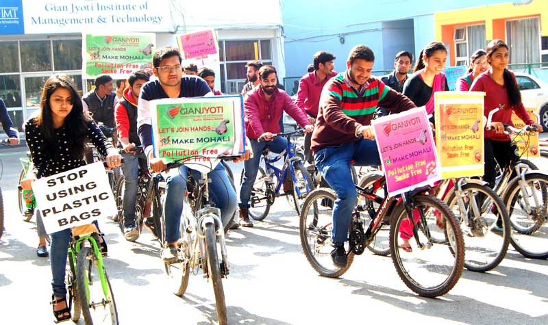 Gain-Jyoti-Institute-of-Management-&-Technology--phase--2-organized-Cycle-rally-to-spread-awareness-about-a-pollution-free-environment-and-good-health-1