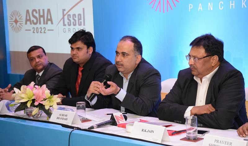 Mr.-Suresh-Bhandari,-President,-ASHA-2022-(Centre)announcing-the-launch-of-ASHA-2022_2