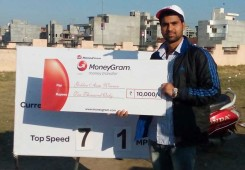 Jatin Chhabra wins 'MoneyGram Golden Arm Bowling Challenge' in Amritsar