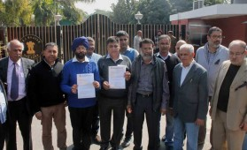 Journalists in Chandigarh protest attack