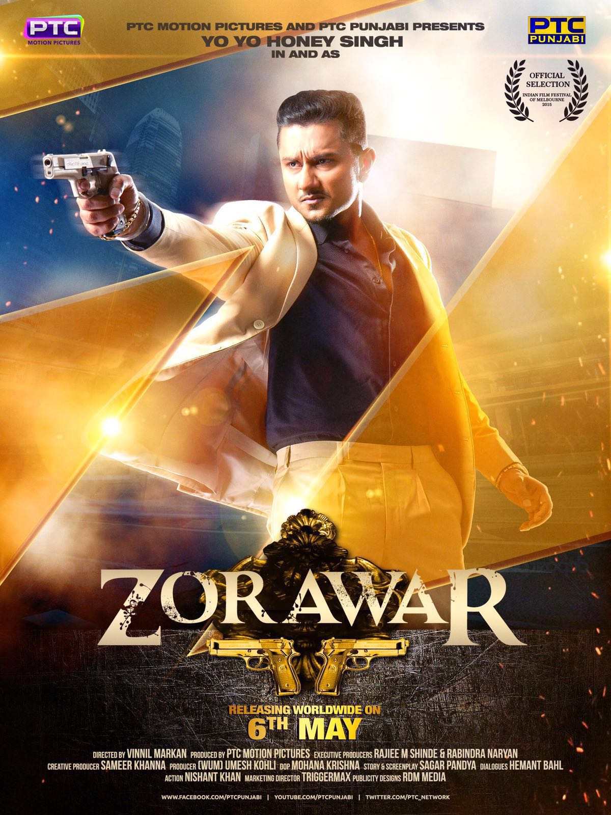 Zorawar (2016) Panjabi 720p HEVC HDRip x265  680MB