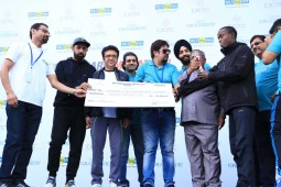 "More than 10000 run for SMART CITY in ""BIG Chandigarh Marathon"""