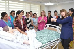 Inscol provides simulation training to protect mother and child during birth emergencies