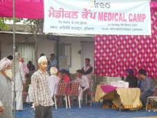 Free Medical Camp organized at Ireo Waterfront