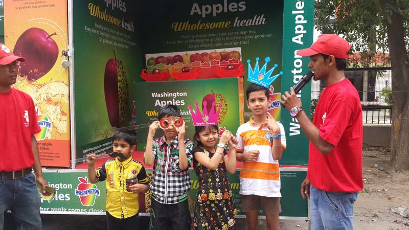 washington apple india