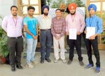 Aarshjot-Singh-,Parminder-Singh&-Vikrant-Thakur--soprtman-of-Ludhiana-College-of-Engineering-&-Technology,-Katani-Kalan--with-winning-Medels-copy