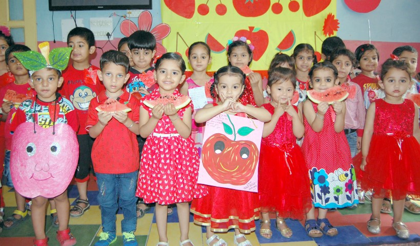 Ashmah International School, Sector 70  Mohali celebrated Red day at it campus, (Small)