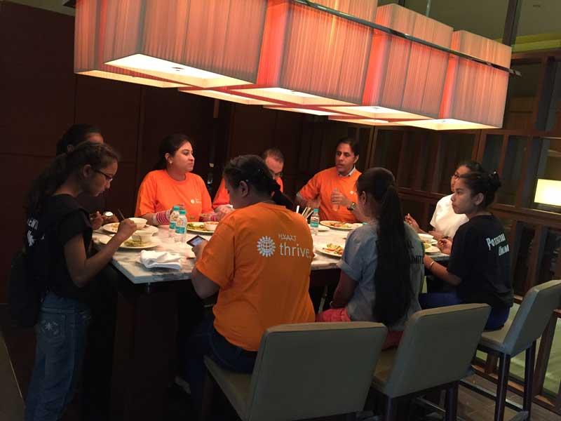 Employees-of-Hyatt-Regency-Celebrating-Global-Month-of-Community-Service