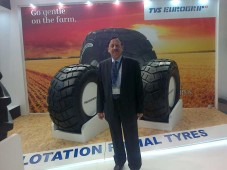 TVS EUROGRIP showcases FLOTATION RADIAL TYRES at REIFEN 2016