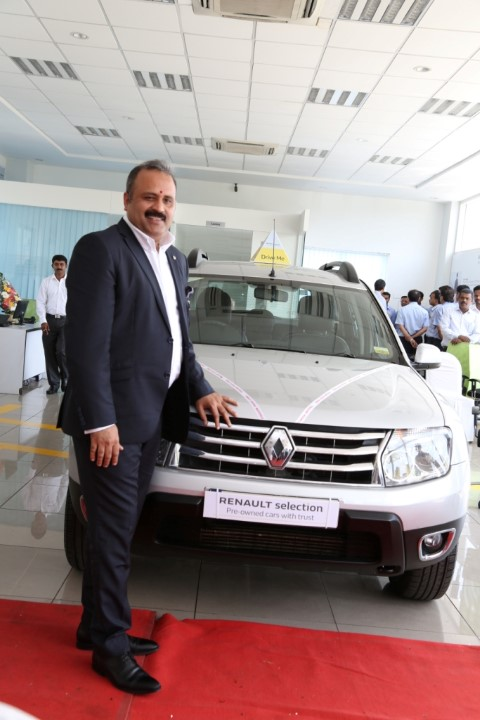 Mr. Sumit Sawhney, Country CEO and Managing Director, Renault India Operations (Small)