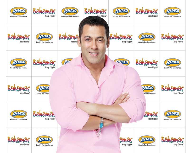 Salman-Khan-,-brand-ambassador---Relaxo-launches-new-brand-BAHAMAS
